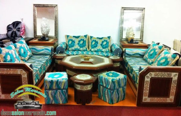 Nouvelle Conception Salon Marocain 2014 - Top Salons Morocain ...