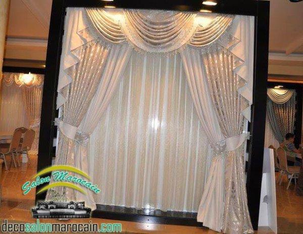 Grand Rideaux Salon Blanche Neige 2014