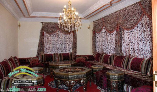 salon marocain oriental - Top Salons Morocain Decoration Moderne
