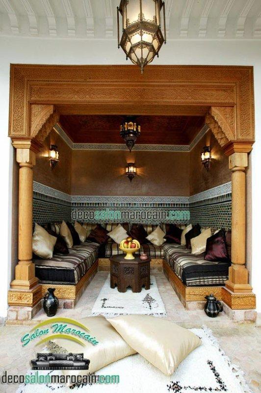 Salon marocain   riad de luxe - Top Salons Morocain ...