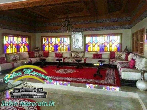 Salon marocain sur mesure très séduisant - Top Salons ...