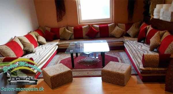 Salon marocain traditionnel confortable - Top Salons ...