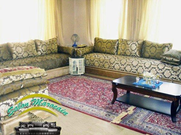 Salon marocain sur-mesure - Top Salons Morocain Decoration Moderne