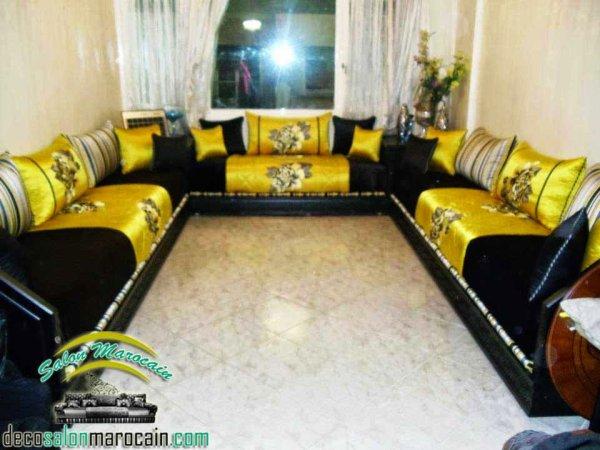 Décor luxueuse salon marocain - Top Salons Morocain ...