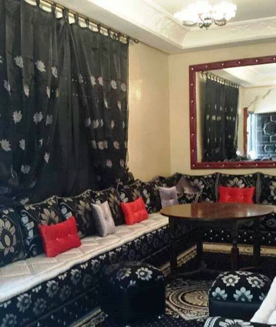 Salon marocain pur et traditionnel - Top Salons Morocain Decoration ...