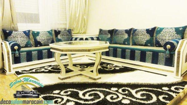 Salon marocain beldi 2015 - Top Salons Morocain Decoration Moderne