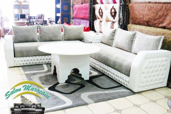 Salon marocain moderne 2016 - Top Salons Morocain Decoration Moderne