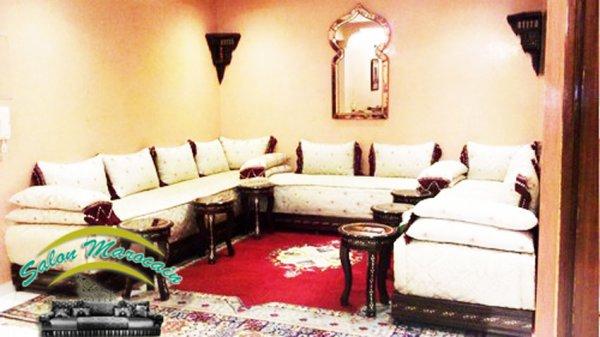 salon marocain - Top Salons Morocain Decoration Moderne