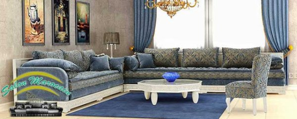 Salon Marocain Moderne Orio