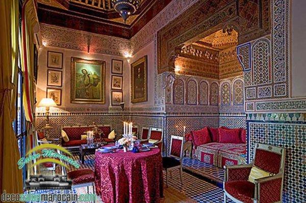 Salon marocain traditionnel 2017 / la vraie antiquité - Top ...