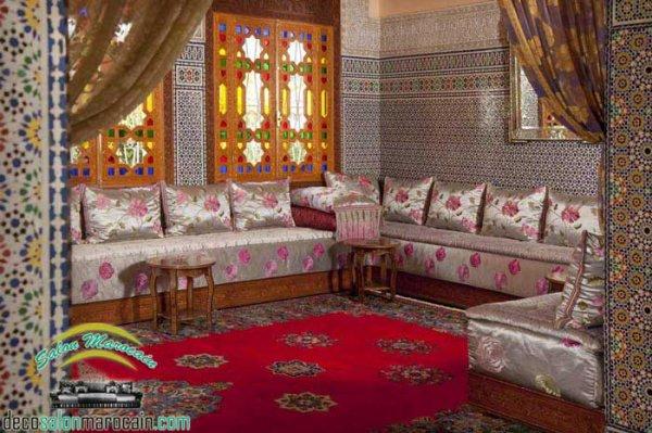 Les meilleurs accessoires d\'un salon marocain traditionnel - Top ...