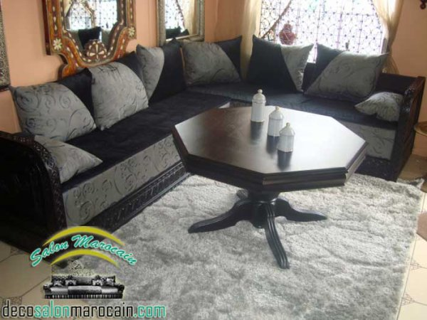 blog de salons marocain top salons morocain decoration moderne. Black Bedroom Furniture Sets. Home Design Ideas