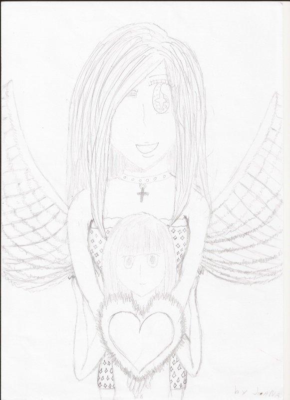 quelque dessins que j'ai fais sans décalquer