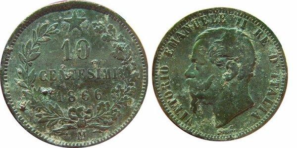 10 centesimi Vittorio