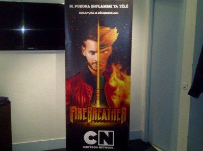 """l'affiche du film """"FireBreather"""""""