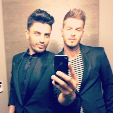 Matt et Hakim pour nouvel an *.*