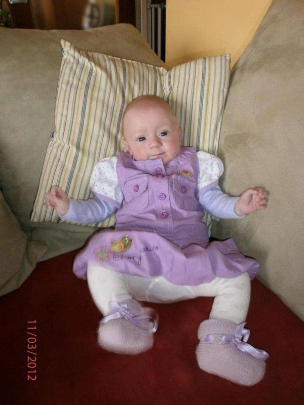 ma deuxieme petite fille nora