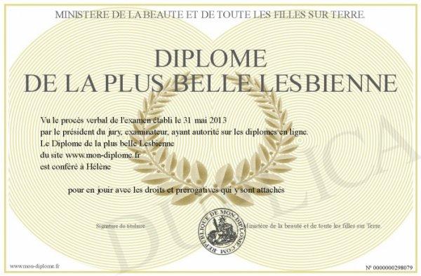Diplome !