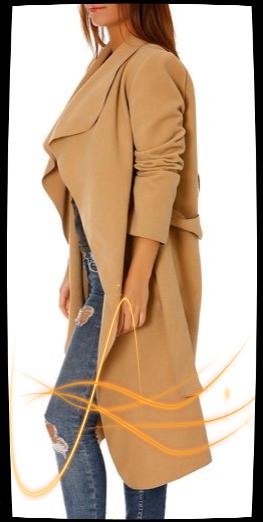 Le manteau camel