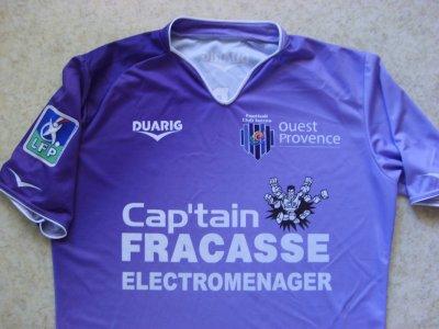 Maillot porté par Houcine Kharbouch à Istres, en Ligue 2, lors de la saison 2006/2007.