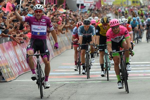 Elia VIVIANI au Giro 2018.