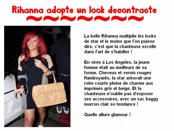 Look de Rihanna
