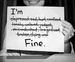 I'm fine. I just not happy.