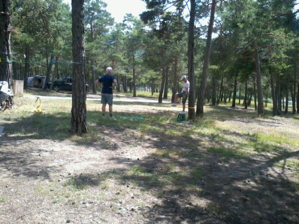 Premiere semaine au camping