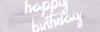 Happy Birthday V <3