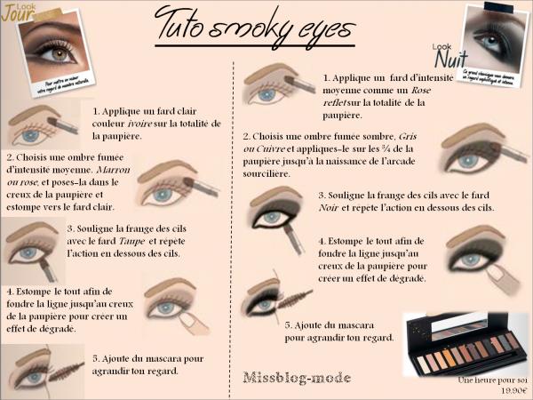 Articles de missblog mode tagg s tuto smoky eyes blog sur la mode - Smoky eyes tuto ...