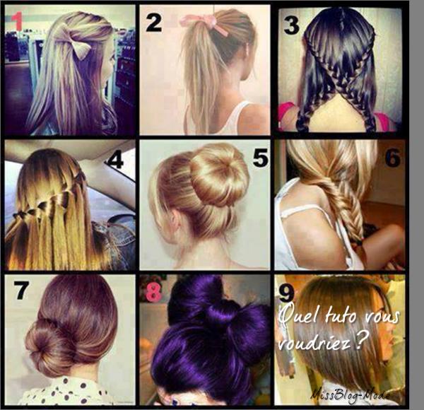 Tuto coiffure ?