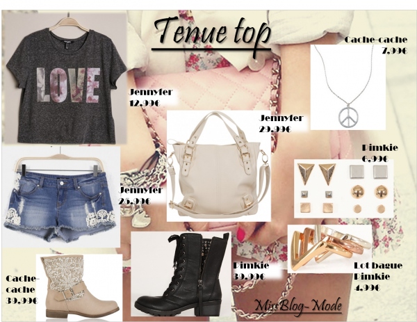 Tenue top