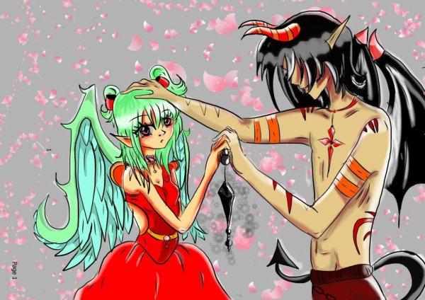 A votre avis il va manger la fille ou il est amoureux d'elle?^^