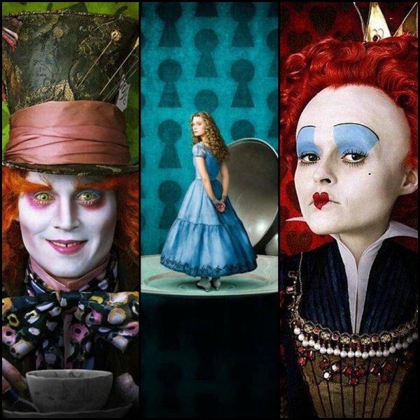 Alice au pays des merveille le film