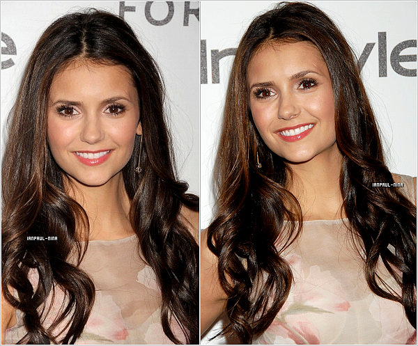 10/01 Nina à été aperçu à l'after party des ''Golden Globes'' organisé par le ''magazine InStyle''.