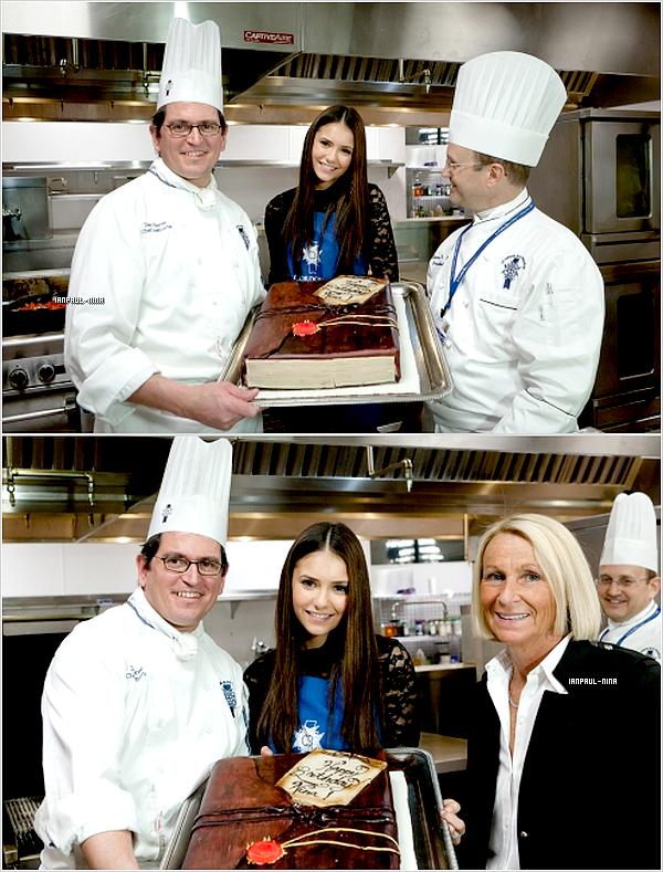 14/01 Nina a fêté son anniversaire à l'Université des Arts Culinaires « Le Cordon Bleu » à Atlanta.  Tu en penses quoi ?