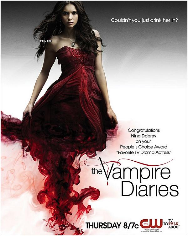 Découvrez une nouvelle photo promo de The Vampire Diaries.