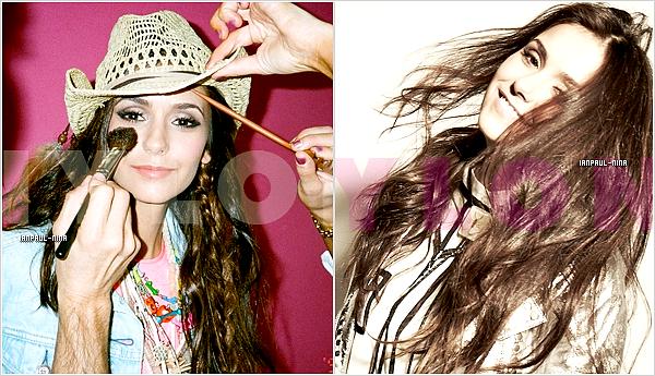 Découvrez de nouvelles photos de Nina posant pour le magazine Nylon du mois de Février.