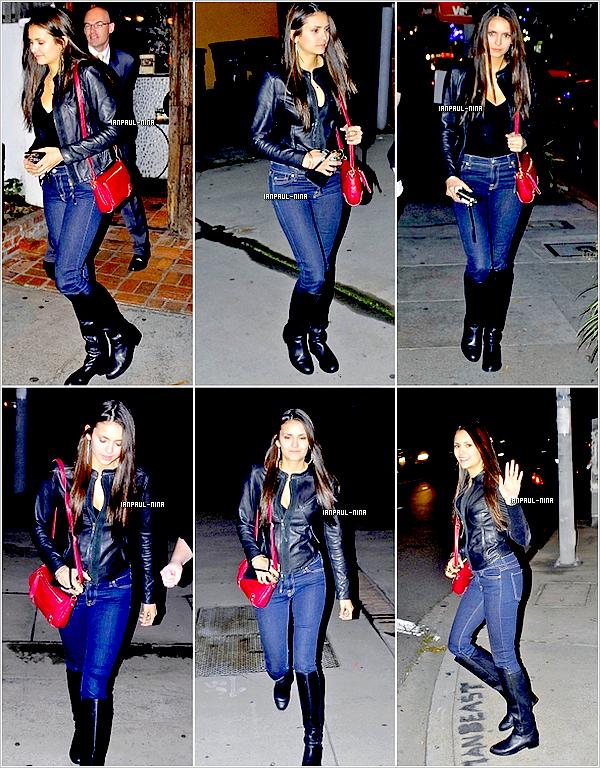02/02 Nina a été aperçut dans le West Hollywood.