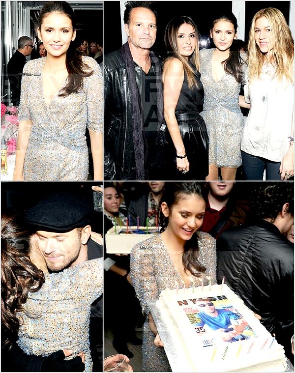 11/02 Nina était à une fête en l'honneur du magazine : Nylon.                   Top ou Flop ?