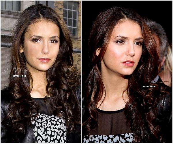 12/02 Notre Nina était au défilé DKNY.                   Top ou Flop ?