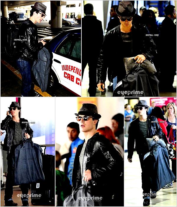 24/02 Nina a été aperçut  l'aéroport de LAX à L.A.
