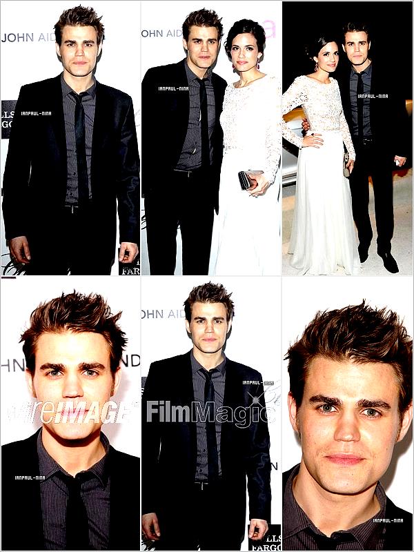 26/02 Paul était également au 20th Annual Elton John AIDS Foundation Academy Awards en compagnie de Torrey, Nina, Ian et d'autres personnes.