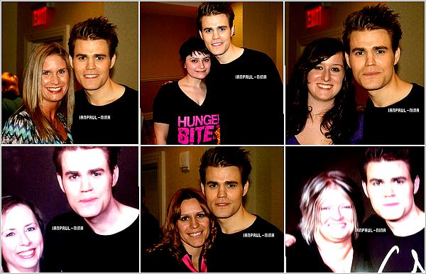 03/03 et 04/03 : Paul était avec ses co-stars à la troisième édition de l'Eyecon.
