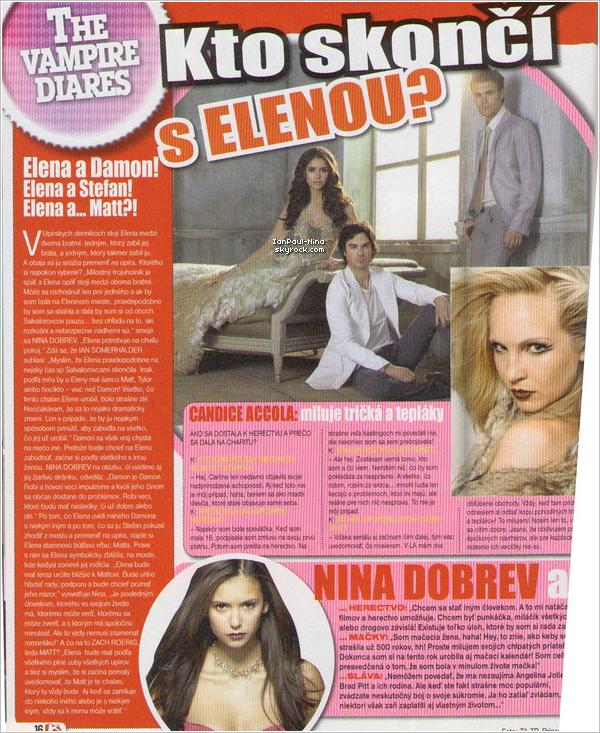 28/03 Nina, Paul & Ian étaient sur le set de l'épisode 3x20 'Do not go gentle'.