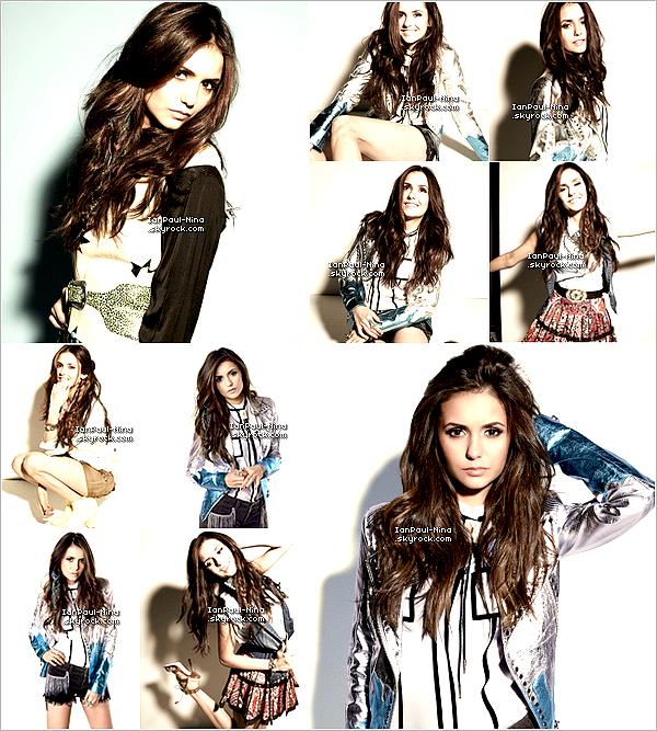 De nouvelles photos du photoshoot de Nina pour Nylon viennent d'apparaître..