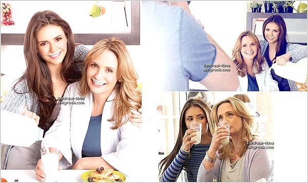10/05 : Nina s'est rendu avec sa mère à l'événement : 'Like Her, Like Me' à New York.