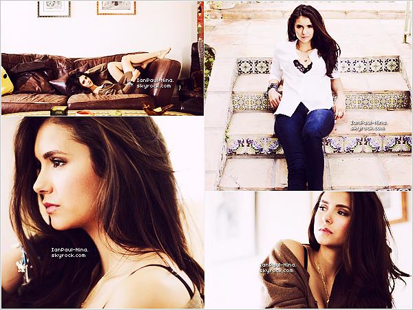 .  Découvrez un magnifique photoshoot de Nina Dobrev pour Esquire..