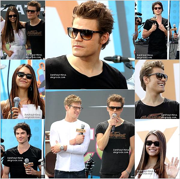 .  Le 14 Juillet 2012 Paul, Nina, Ian, Steven, Zach et Micheal étaient au Comic-Con de San Diego..