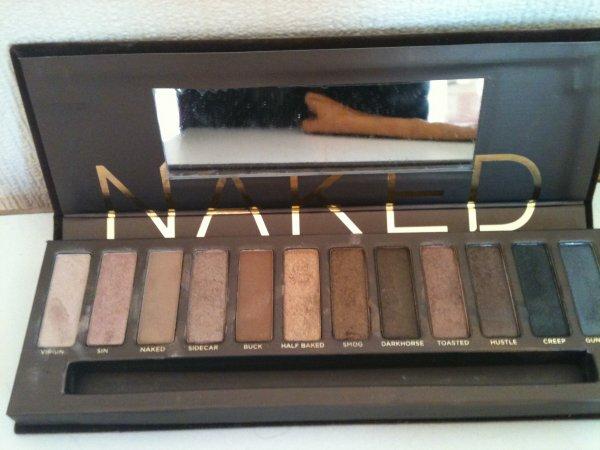 mes palettes de maquillage!!